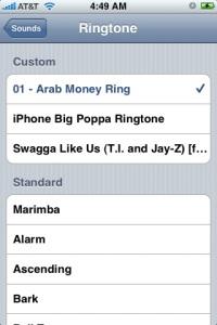 iPhone Custom Ringtones